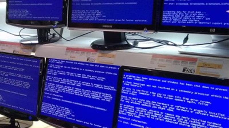 Анализ синего экрана смерти в незагружающейся Windows