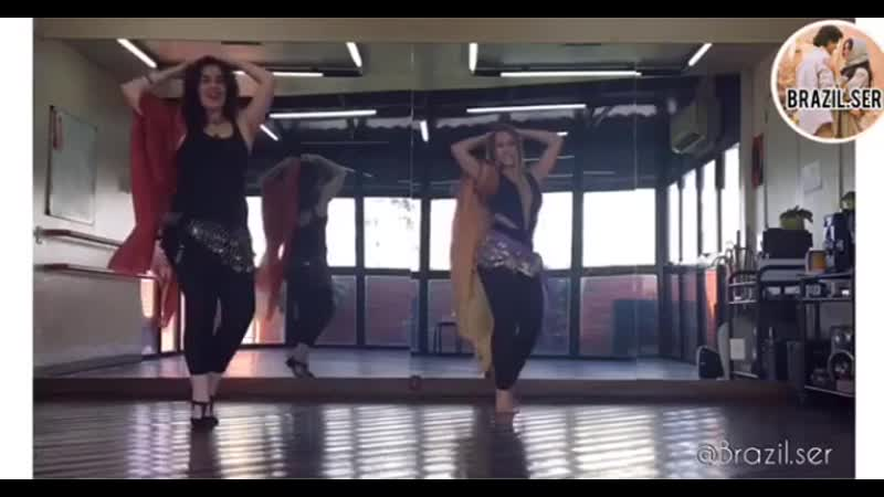 Бразильянки восточной танец