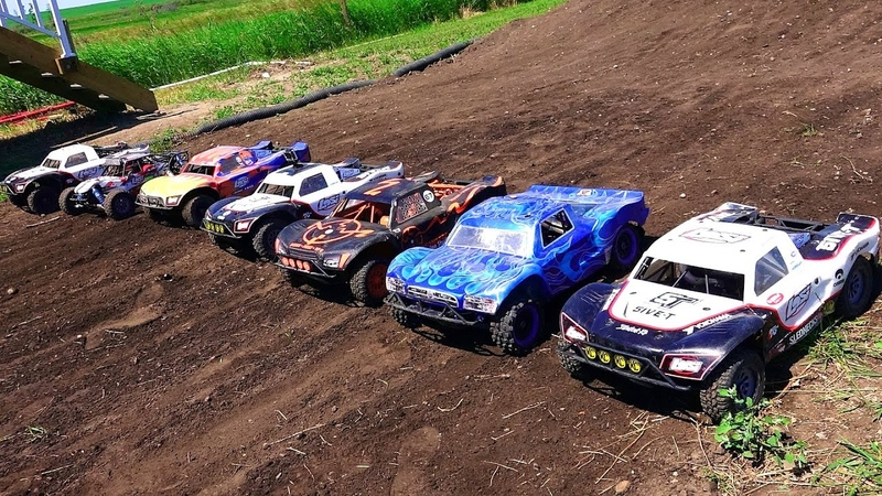 RC ADVENTURES - Little Dirty Canadian Large Scale 4x4 Offroad Race Highlight Reel - Losi 5T