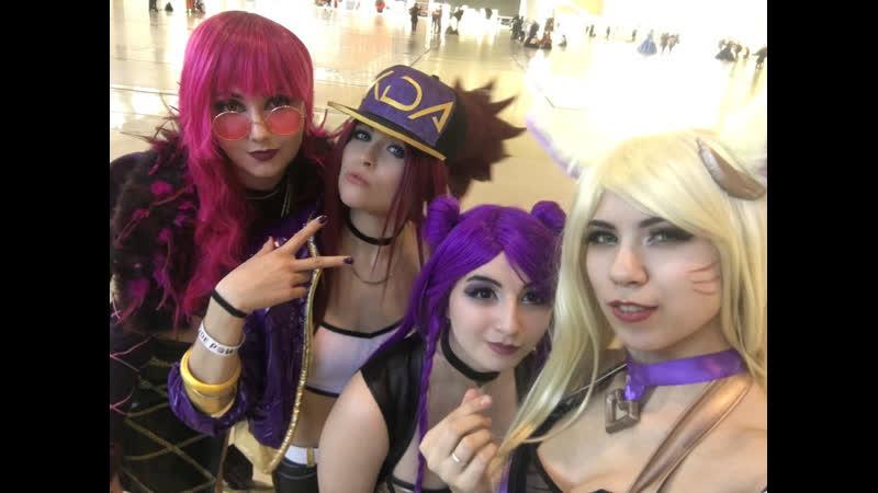 _Maya_Wolfman_, KaNa, Elsy, Ayane~chan - League of legends K\DA Girls