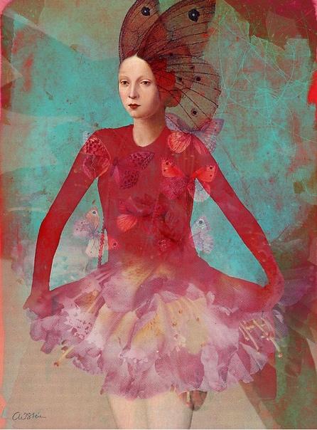Сюрреалистические фантазии в ретро-стиле от Catrin Welz-Stein
