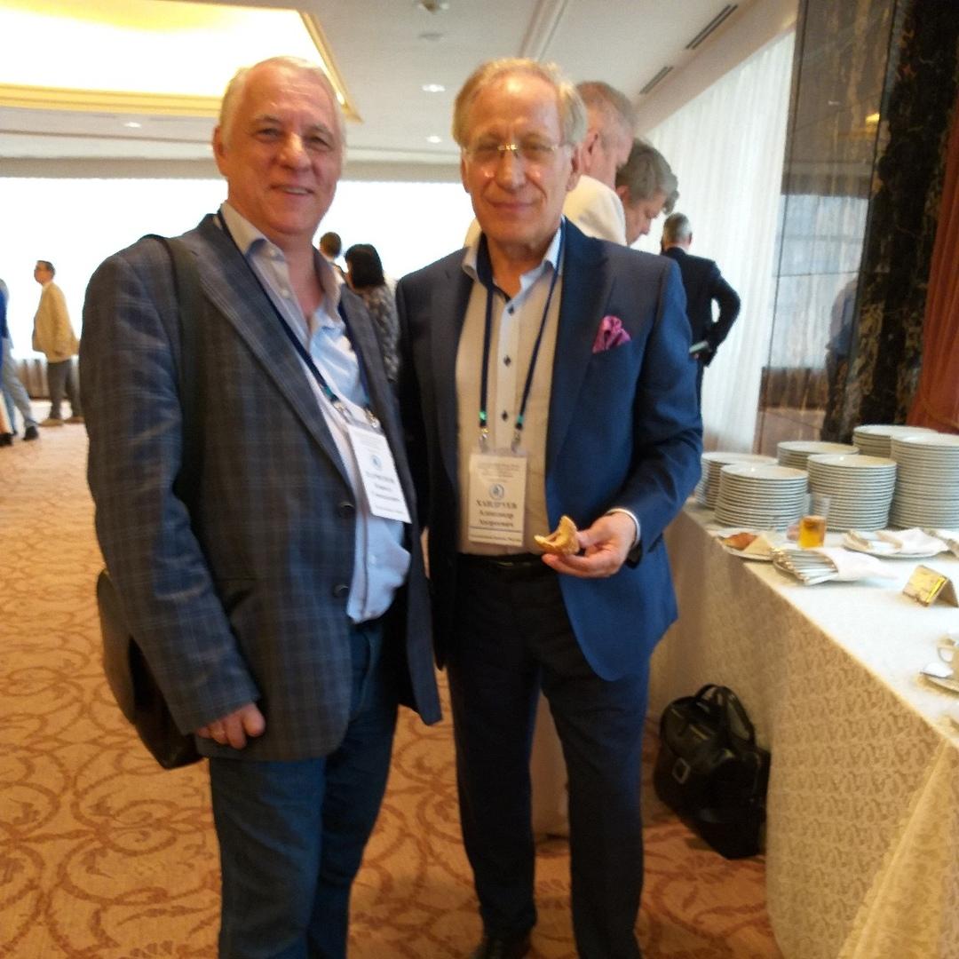 Александр Хандруев и Кирилл Парфенов на съезде Ассоцивции