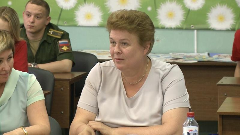 Члены волонтёрской роты боевого братства встретились с депутатом Госдумы Ольгой Окуневой