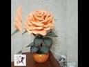Персиковый настольный ночник светильник