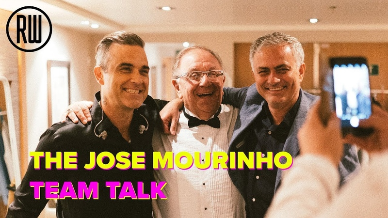 The José Mourinho Team Talk | Vloggie Williams 83