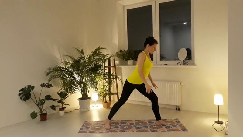 Азбука йоги. Йога для начинающих, эпизод 4: позы стоя (сила гибкость)