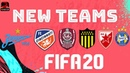FIFA 20 NEW TEAMS Confirmed Potential Wishlist