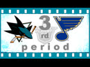 80. NHL. STANLEY CUP. PLAYOFFS 2019. 1/2 FINALS. GAME 6. MAY 21 2019. SAN JOSE SHARKS ― ST. LOUIS BLUES