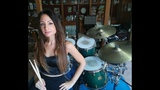 IRON MAIDEN - CHILDREN OF THE DAMNED - DRUM COVER by CHIARA COTUGNO
