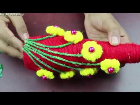 Amazing Woolen Crafts Ideas   Craft ideas using waste materials - Best out of waste -arts and crafts
