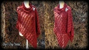 How To Crochet An Easy Rectangle Shawl Rock N Roll Wrap Bag O Day Crochet Tutorial 583