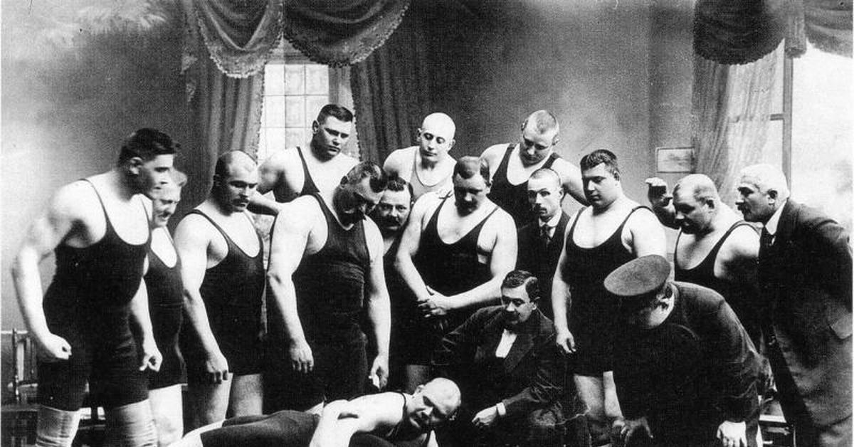 борцы 19 век