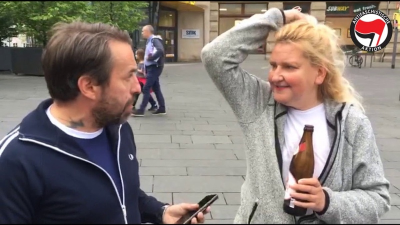 2019 05 20 Sven Liebich Interview mit der Chefin der Antifa von Halle - brisant exklusiv