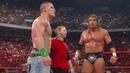 Seth Green, John Cena Triple H vs. The Legacy Raw, July 13, 2009