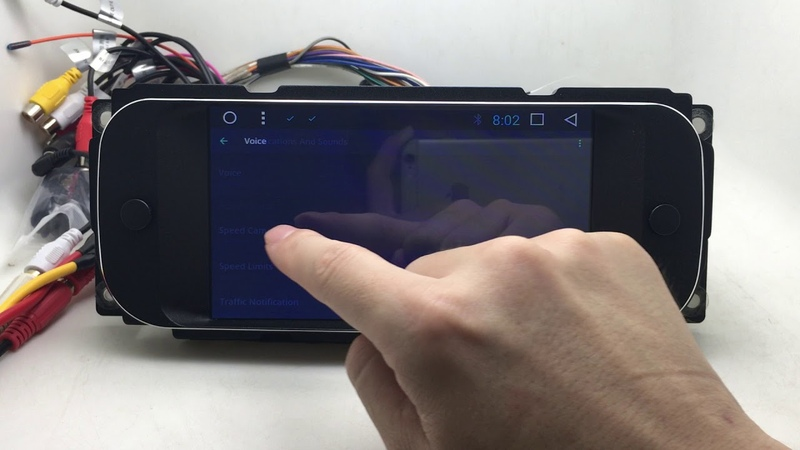 Android Car Multimedia Stereo GPS Navigation Head Unit Sat Nav Chrysler Cruiser Jeep Wrangler Dodge