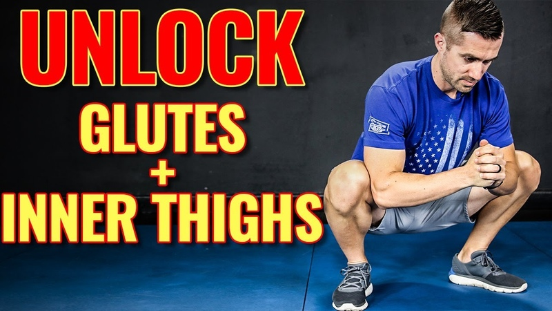 3 Minute INNER THIGH GLUTE Stretch Routine FAST Muscle Relief
