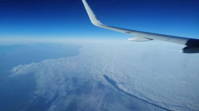 Облака, белогривые лошадки (полет в Москву. Прекрасный вид)