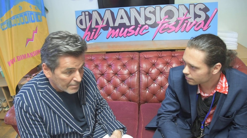 Thomas Anders meeting with Star Gossip Magazine