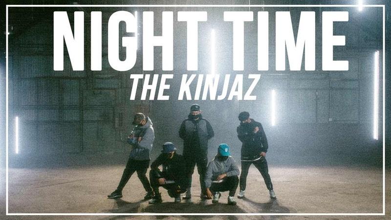 RIZR Night Time Choreography by The Kinjaz