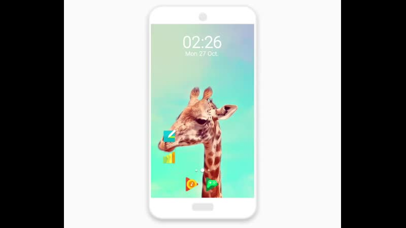 Giraffe Live Wallpaper .mp4