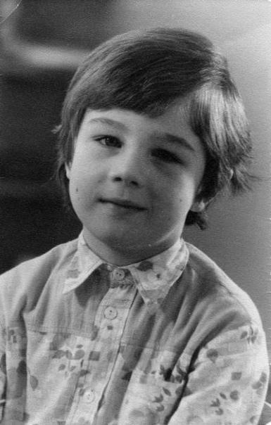 Сергей Бодров - младший (Москва, 1970-е годы)