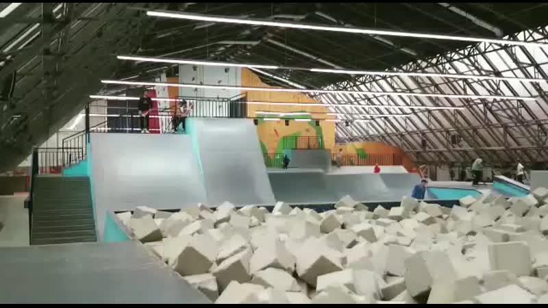 Центр спорта Жесть, бэкфлип