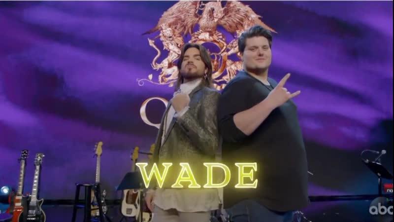 7 Wade Cota Mentor Behind the Scenes Queen Night ¦ American Idol 2019 Top 8