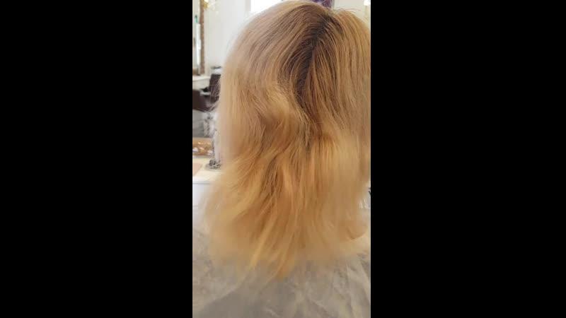 полное окрашивание волос красками INOA от Loreal Professional