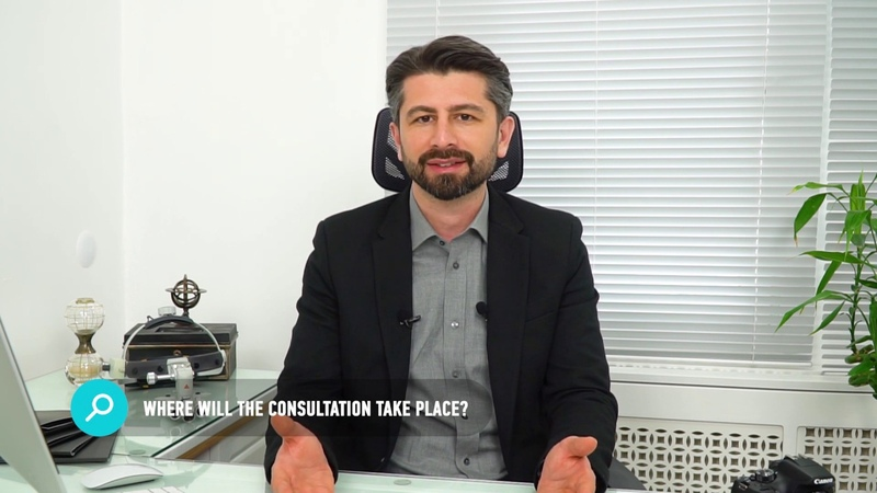 Dr Kaan Pekiner - Where will the consultation take place?