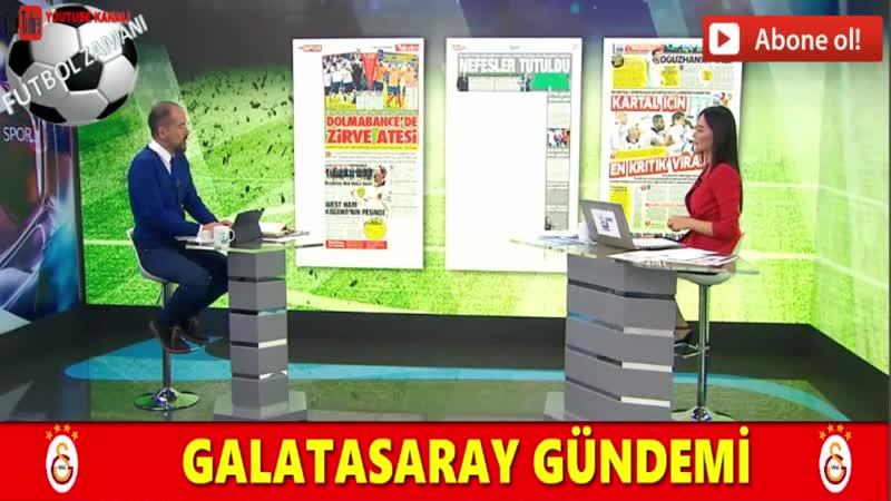 GALATASARAY - Sabah Sporu 13 Nisan 2019