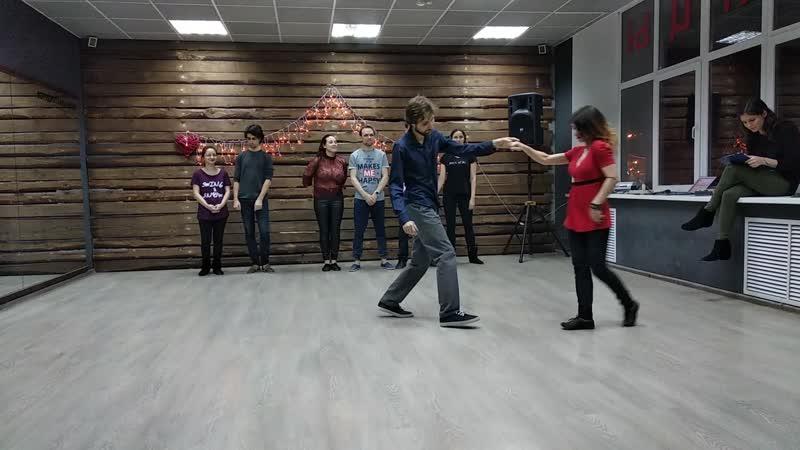 Артем Корюкин и Руфина Седова - ВКуС - Весна 2019 - Open JnJ