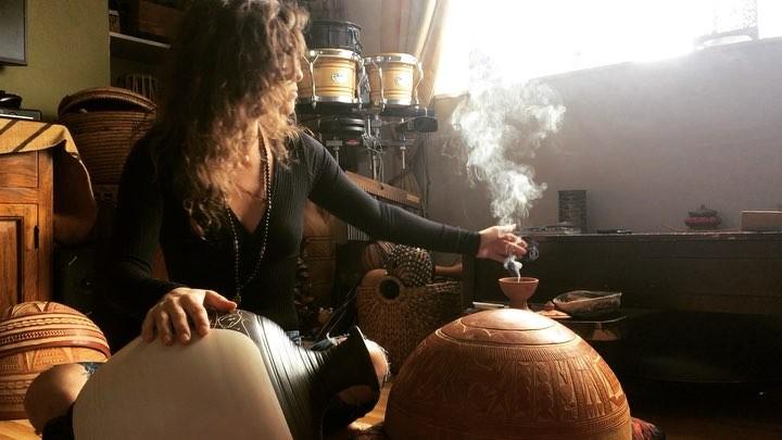 "Regina Martin on Instagram: ""G O D D E S S E S . I can't stop singing this new chant calling the Goddesses Durga, Kali, Saraswati, Jai Jai Maa. May..."