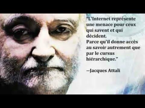 Le Vrai Président de La France Fait Taire En Direct Un Économiste d'un Seule Geste de la Main...