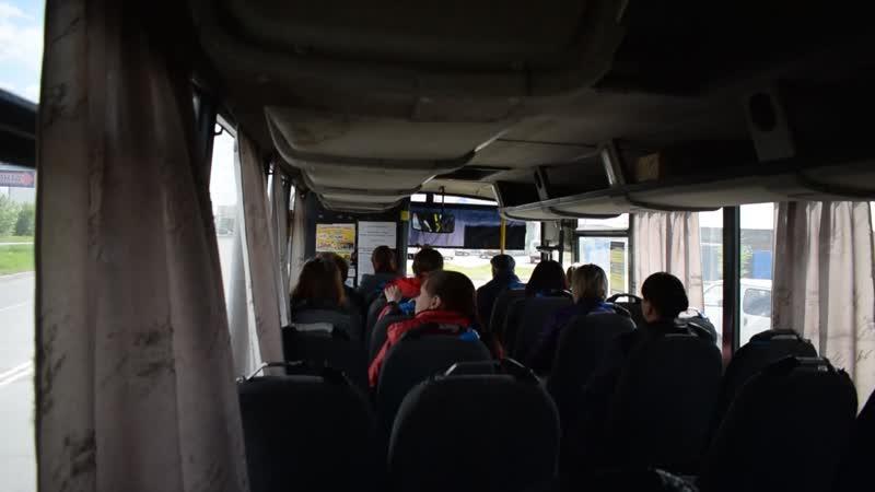 Автобус ПАЗ-4230-01(КАвЗ)(Т 062 ОА 22). Покатушки по Новоалтайску.