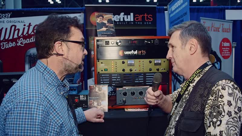 Useful Arts SFP-30 Tube Preamp - AES 2018