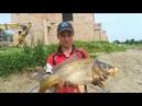 Рибалка на Озері Біла Вежа ловля Сома та Коропа
