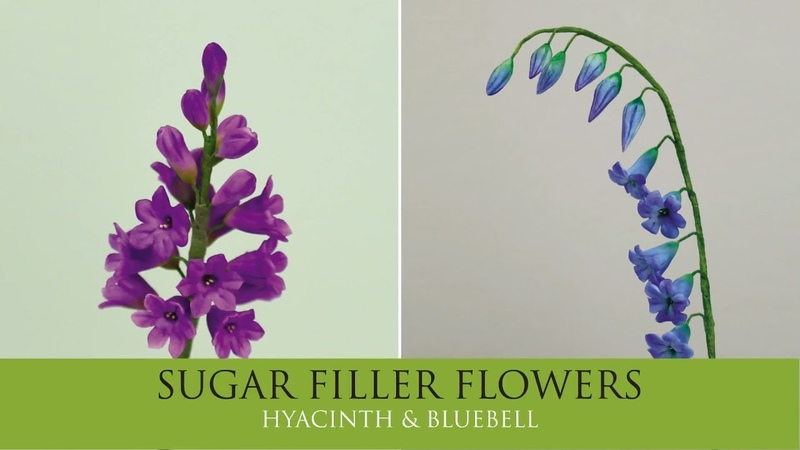 How to Make Hyacinth Bluebell Sugar Filler Flowers Part 5