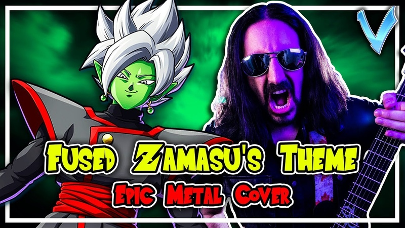 Dragon Ball FighterZ - Fused Zamasu Theme [EPIC METAL COVER] (Little V)