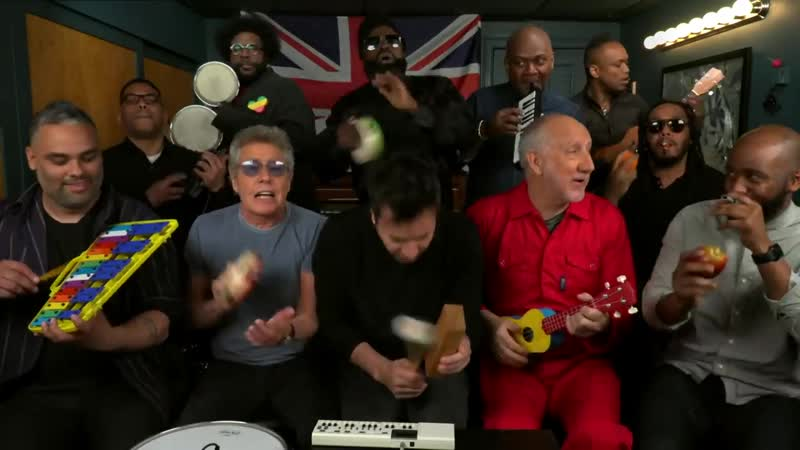 Jimmy Fallon, The Who The Roots Sing Wont Get Fooled Again (Classroom Instruments)