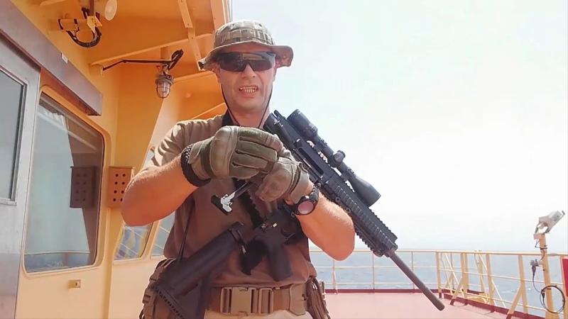Неполная разборка сборка винтовки HK MR308