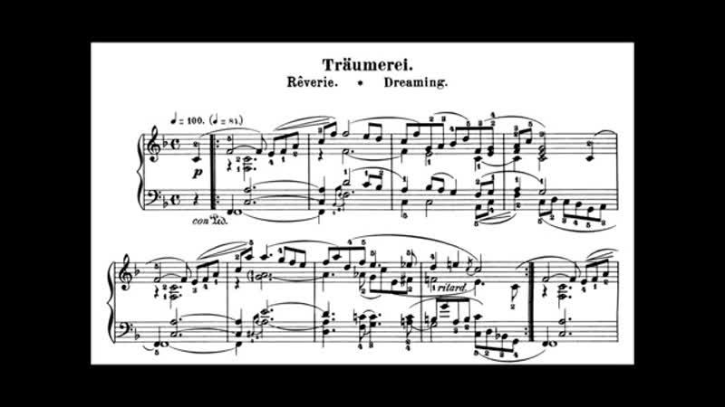 Vladimir Horowitz - Schumann - Träumerei, Kinderszenen No. 7, Scenes from Childhood, 1838.- Nº 1. Von fremden Ländern und Mensch