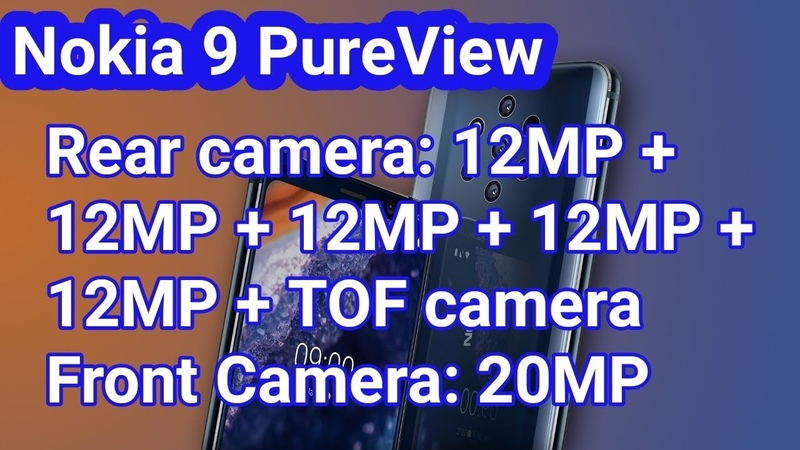 Nokia 9 PureView 6GB RAM 128GB ROM 3,320mAh Unboxing Review Specifications First Look Price Buy