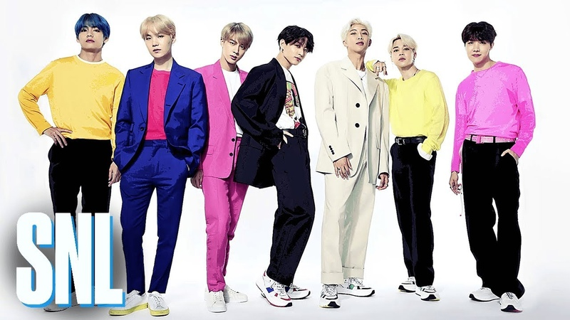 BTS Boy with Luv (Live) - SNL