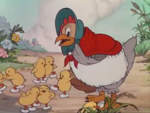 The Wise Little Hen    Donald Duck Cartoons    Silly Symphony Videos