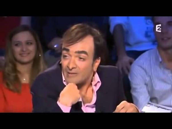 Jonathan Lambert est Eric Zemmour - On nest pas couché 3 novembre 2012 ONPC