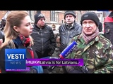 Latvian Nazis Completely Misguided! Motivated by Hatred of Russians, Not Healthy Nationalism!
