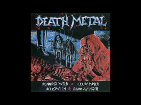 Death Metal (Running Wild, Hellhammer, Dark Avenger, Helloween) (1984) (LP, Germany) [HQ]