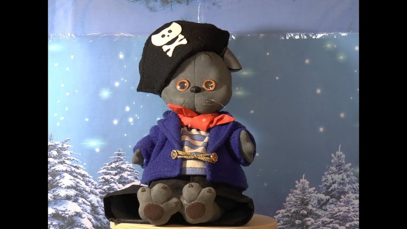 Cat leopard pirate vest, jacket, hat -Кот Барс пират тельняшка, камзол, шляпа