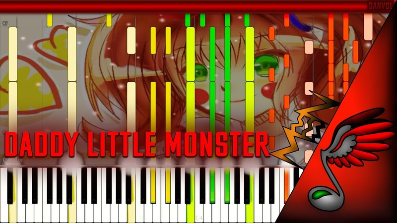 FNAF SONG - Daddy's Little Monster (Piano Cover by Danvol) - Synthesia HD