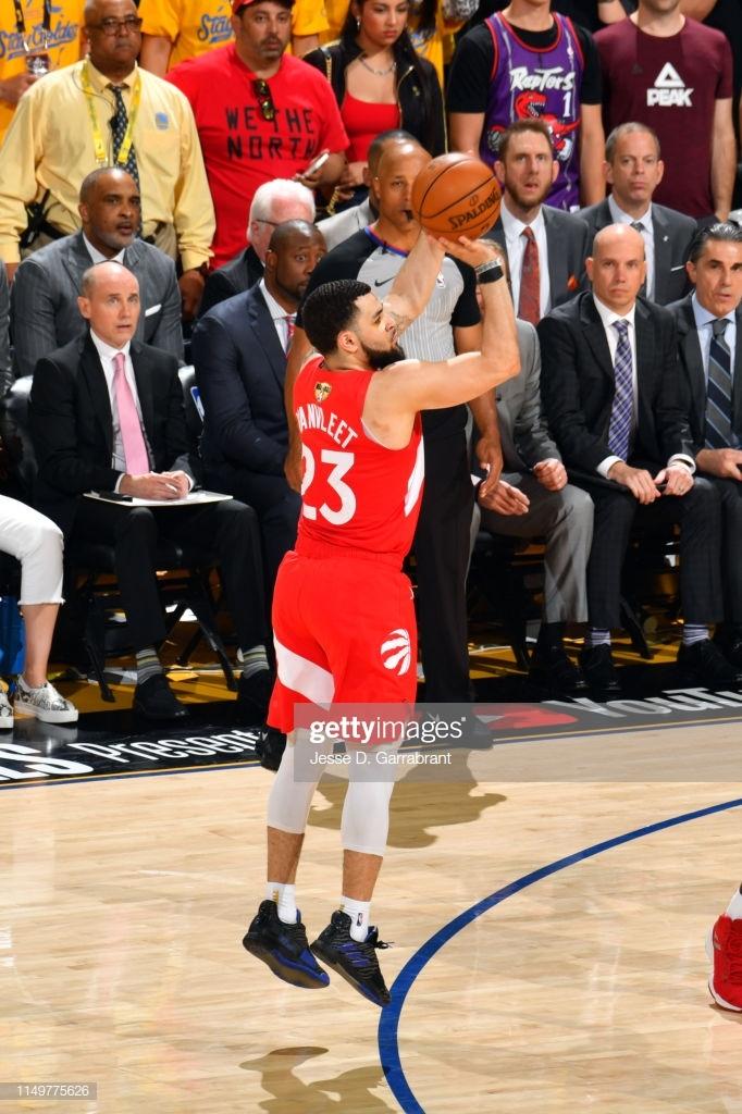 Фред Ванвлит установил рекорд НБА по количеству трехочковых, реализованных запасным игроком в финальной серии